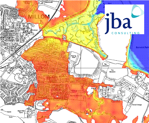 coastal flood map