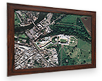 Framed Aerial Photograph